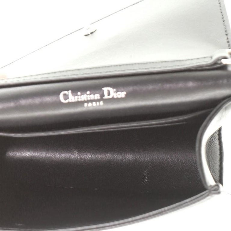 Christian Dior Diorama Flap Bag Leather Baby For Sale 1