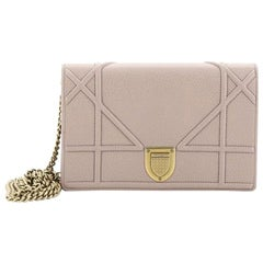 Christian Dior Diorama Wallet On Chain Leather