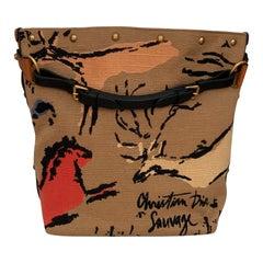 Christian Dior DiorAvenue Large Canvas Bucket Bag