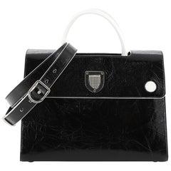 Christian Dior Diorever Handbag Leather Medium
