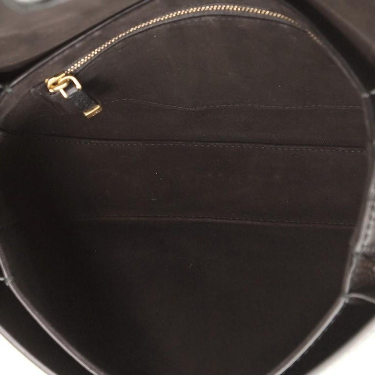 Christian Dior Dio(R)Evolution Flap Bag Leather Medium  For Sale 1