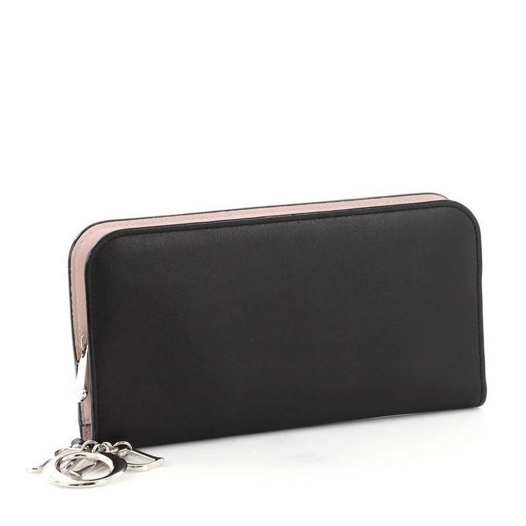 Christian Dior Diorissimo Voyageur Organizer Wallet Leather Long At 1stdibs