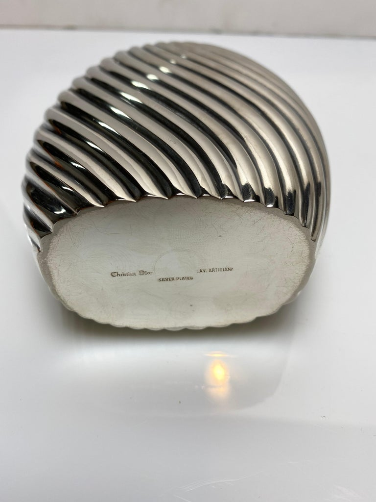 Late 20th Century Christian Dior Flask For Sale