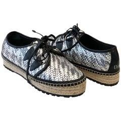 Christian Dior Folk Platform Sneakers