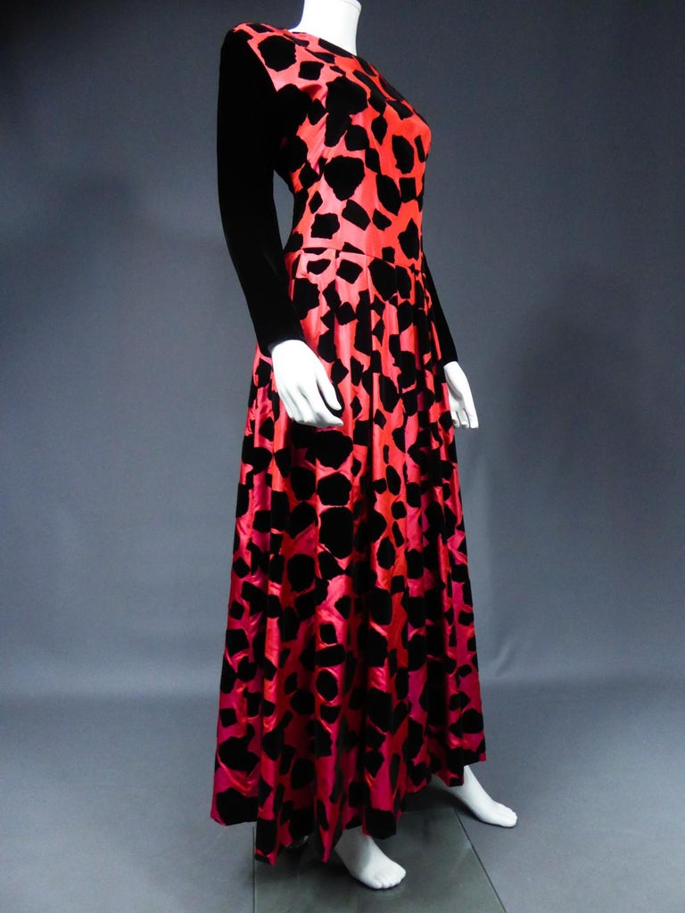 ​​​​​​​Christian Dior / Gianfranco Ferré Evening Dress Circa 1990 For Sale 5