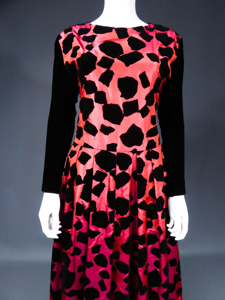 ​​​​​​​Christian Dior / Gianfranco Ferré Evening Dress Circa 1990 For Sale 1