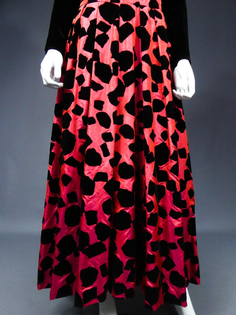 ​​​​​​​Christian Dior / Gianfranco Ferré Evening Dress Circa 1990 For Sale 4