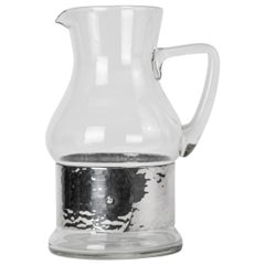 Christian Dior Glass Pitcher