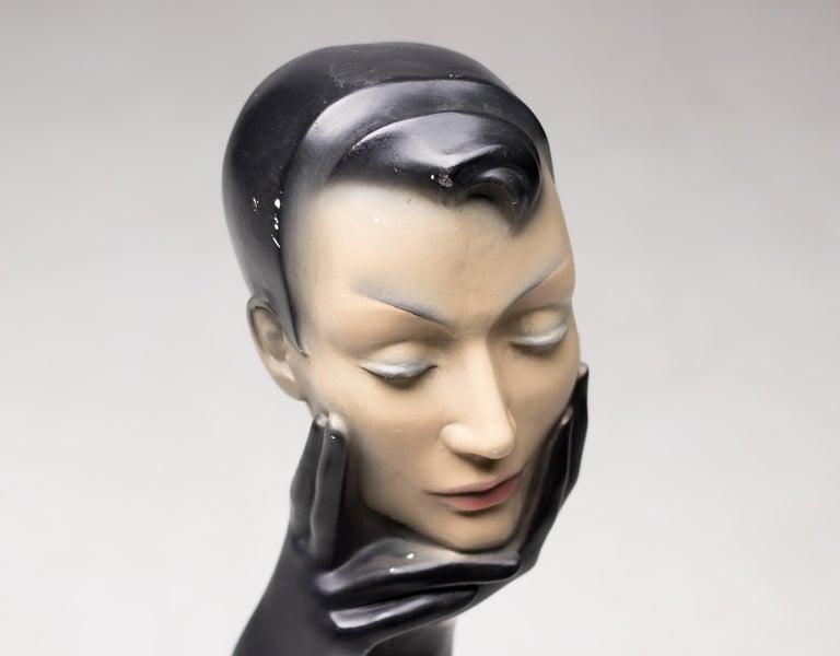 Mid-Century Modern Christian Dior Gloved Mannequin Head