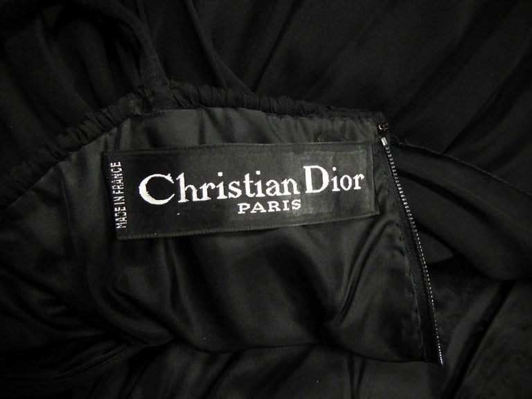 Christian Dior Haute Couture by Marc Bohan Circa 1975 For Sale 7