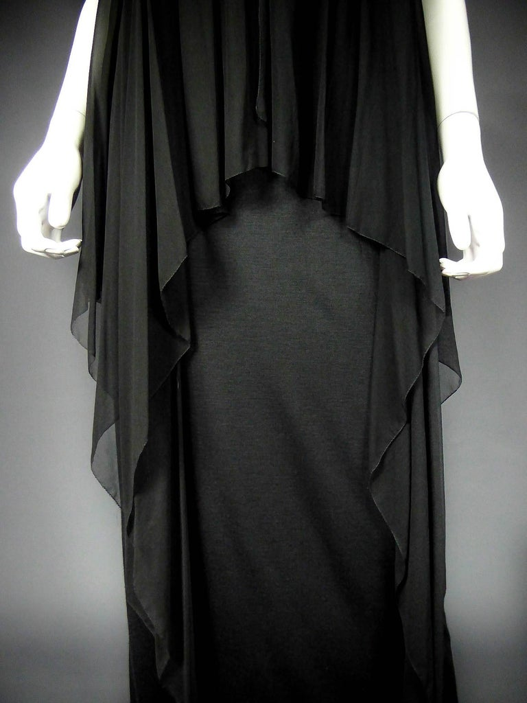 Christian Dior Haute Couture by Marc Bohan Circa 1975 In Excellent Condition For Sale In Toulon, FR