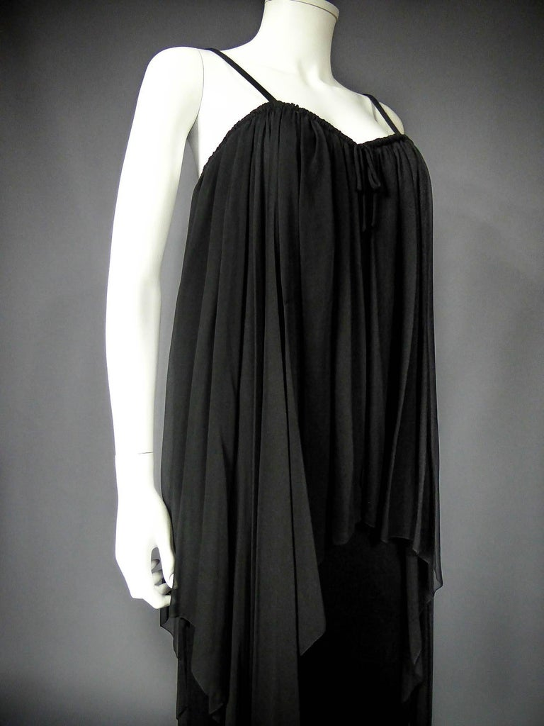 Women's Christian Dior Haute Couture by Marc Bohan Circa 1975 For Sale