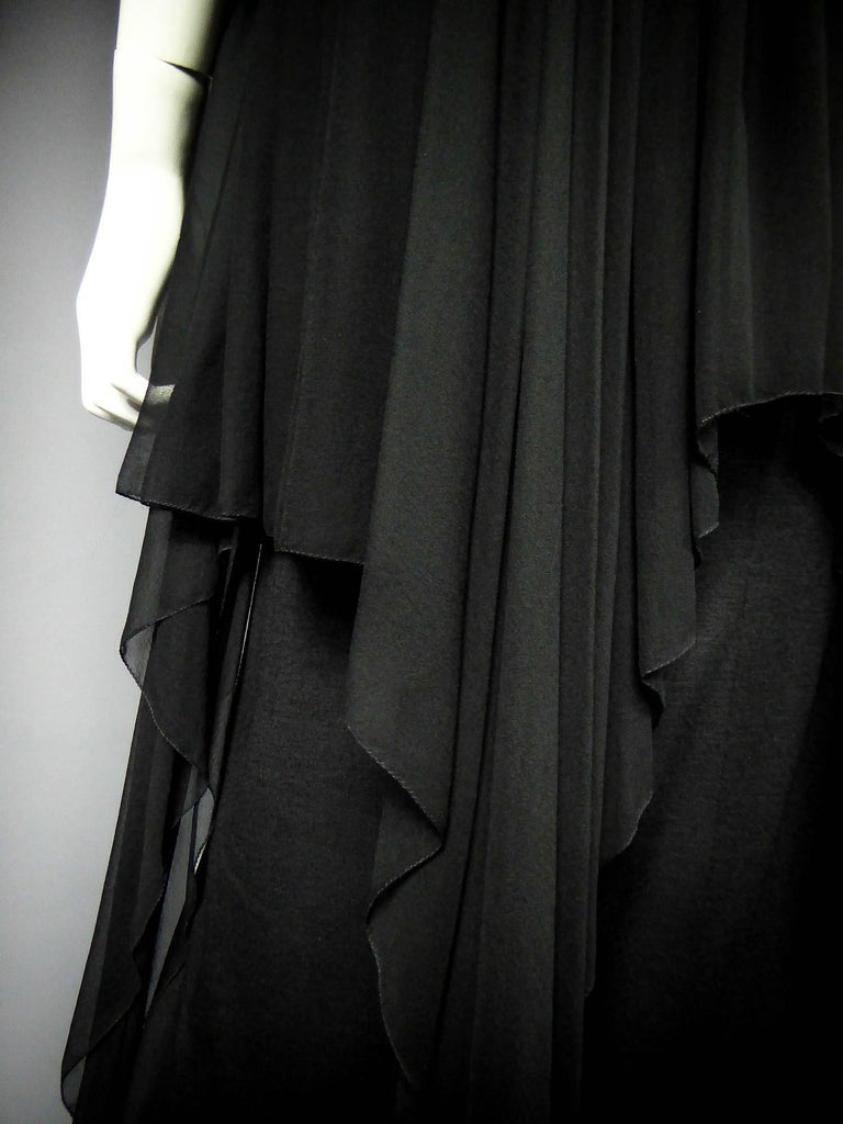 Christian Dior Haute Couture by Marc Bohan Circa 1975 For Sale 2