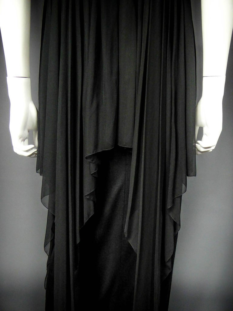 Christian Dior Haute Couture by Marc Bohan Circa 1975 For Sale 3