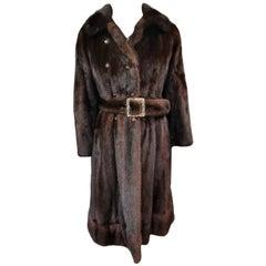 Christian dior / Holt renfrew mink fur coat size 6