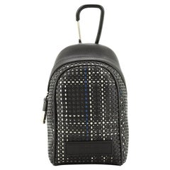 Christian Dior Homme Backpack Key Ring Perforated Leather