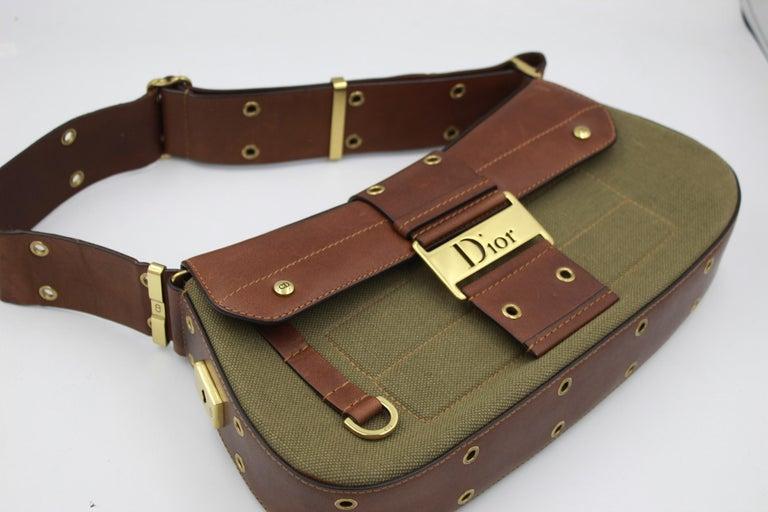 Super nice Christian Dior Columbus by John Galliano Handbag Really good condition hardly used   Size 30x15