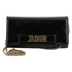 Christian Dior J'adior Croisiere Chain Wallet Leather