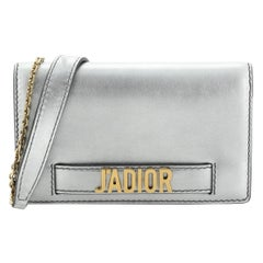 Christian Dior J'Adior Wallet on Chain Leather
