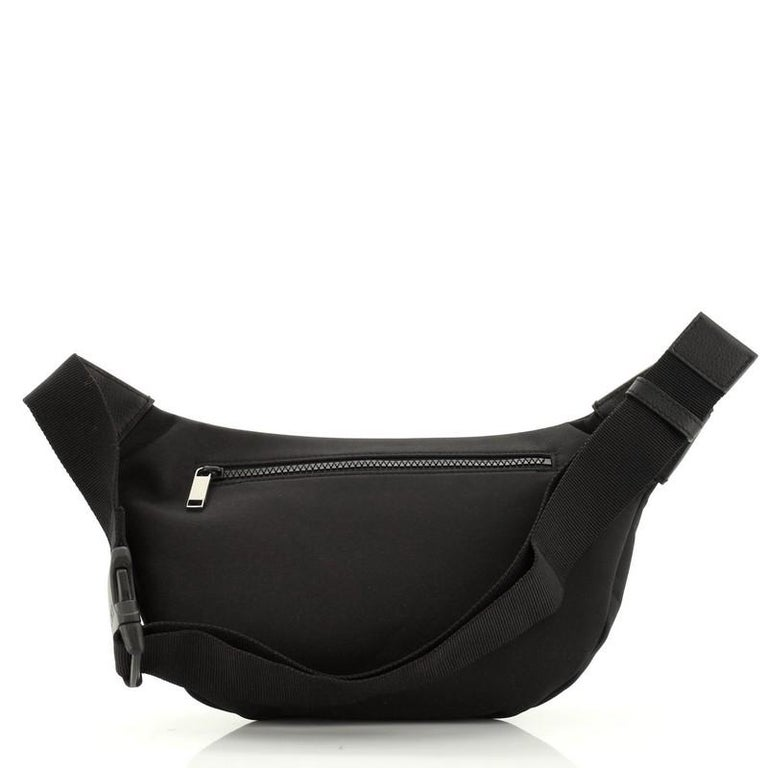 Women's or Men's Christian Dior KAWS Waist Bag Nylon For Sale