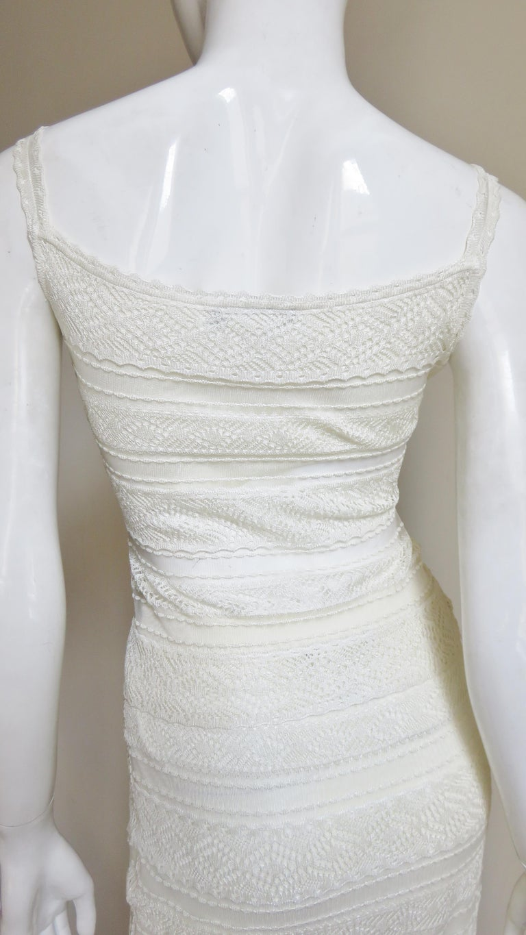 Christian Dior Lace Camisole and Skirt For Sale 6