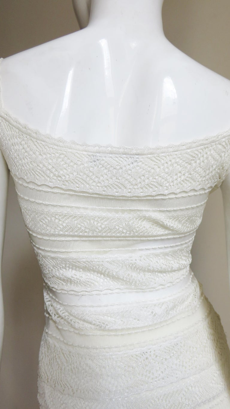 Christian Dior Lace Camisole and Skirt For Sale 7
