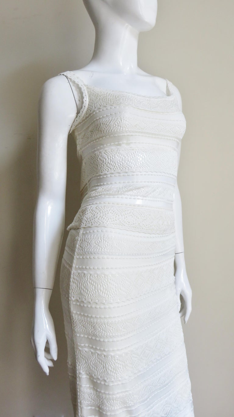 Christian Dior Lace Camisole and Skirt For Sale 4