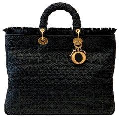Christian Dior Lady Dior Bag Cannage Braided Leather Limited Edition