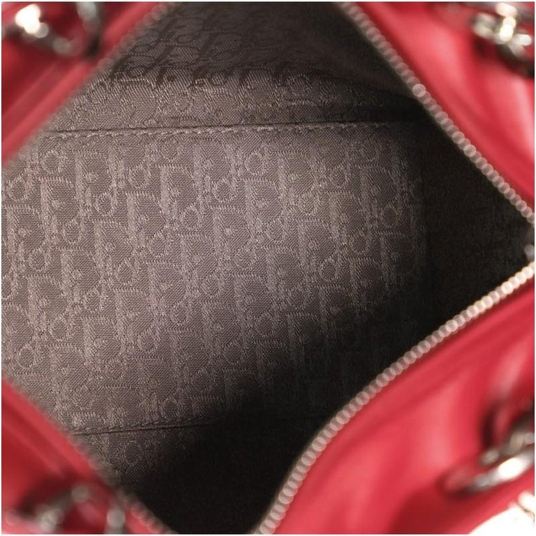 Christian Dior Lady Dior Bag Cannage Quilt Lambskin Medium 1