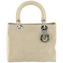 Christian Dior Lady Dior Bag Cannage Quilt Lambskin Medium