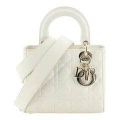 Christian Dior Lady Dior Bag Cannage Quilt Lambskin Mini