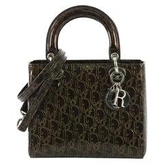 Christian Dior Lady Dior Handbag Ultimate Embossed Patent Medium