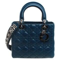 Christian Dior Lady Dior Handbag with removable strap