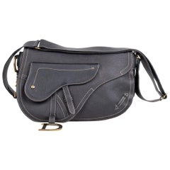 Christian Dior Large Saddle Bag