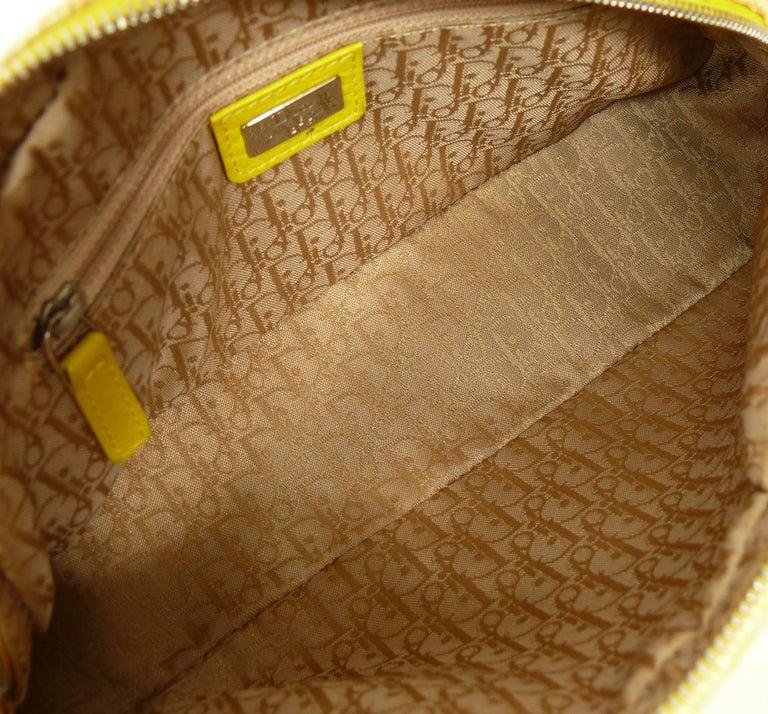 Christian Dior Limited Edition Raffia Flower Bowler Handbag For Sale 11