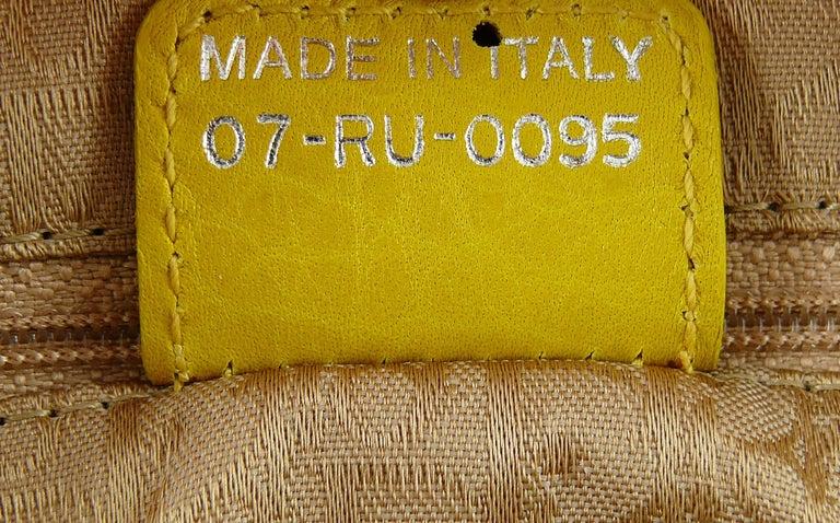 Christian Dior Limited Edition Raffia Flower Bowler Handbag For Sale 13