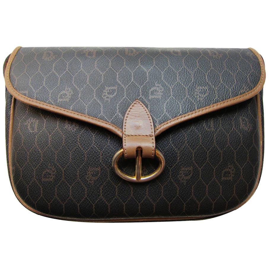 Christian Dior Logo Shoulder Bag 1980s