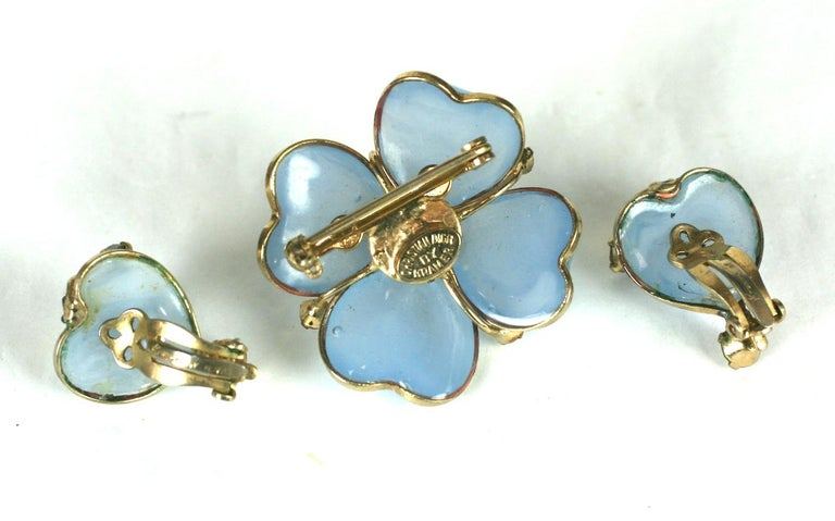 Christian Dior Maison Gripoix Demi Parure In Excellent Condition For Sale In Riverdale, NY