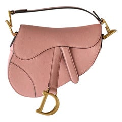 Christian Dior Mini Saddle Calfskin Bag