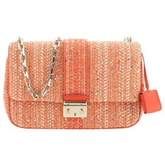 Christian Dior Miss Dior Flap Bag Tweed Medium