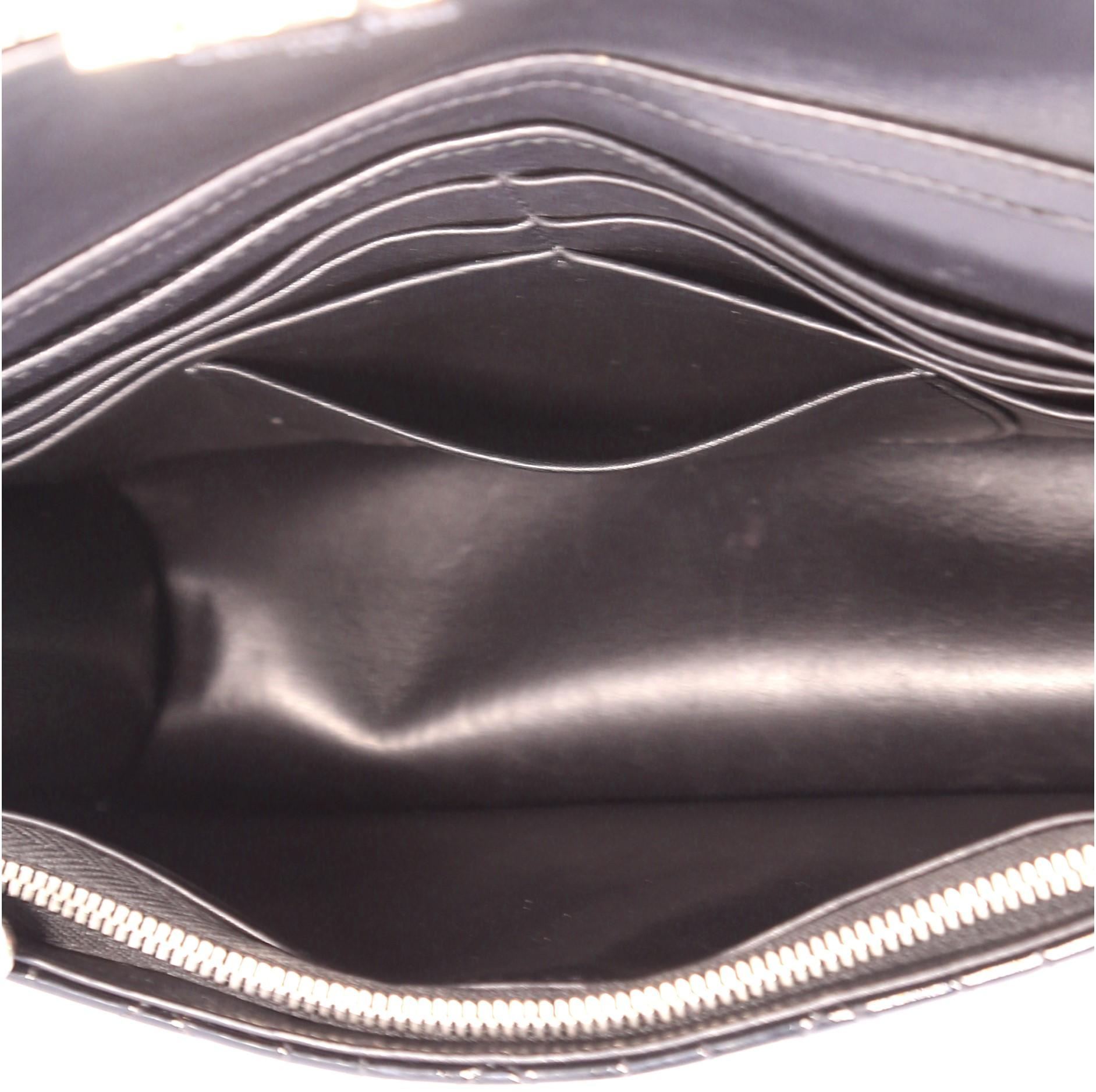 42c782d8af Christian Dior Miss Dior Promenade Pouch Cannage Quilt Patent Large at  1stdibs