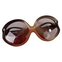 Christian Dior Miss Dior Rare Vintage Optyl Oversize Sunglasses