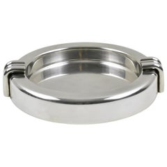 Christian Dior Modernist Silver Plate Large Cigar Ashtray Desk Tidy Catchall