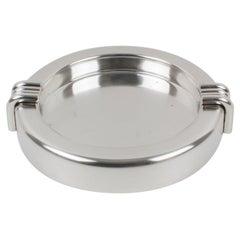 Christian Dior Silver Plate Cigar Ashtray Desk Tidy Catchall