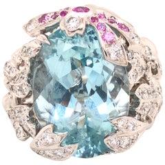 Christian Dior Moyenne Joaillerie Ring Gourmande Pastel 18k White Gold