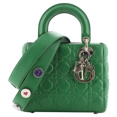 Christian Dior My Lady Dior Bag Cannage Quilt Lambskin