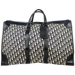 Christian Dior Navy Diorissimo Weekend Bag