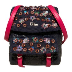 Christian Dior Navy Stardust Backpack