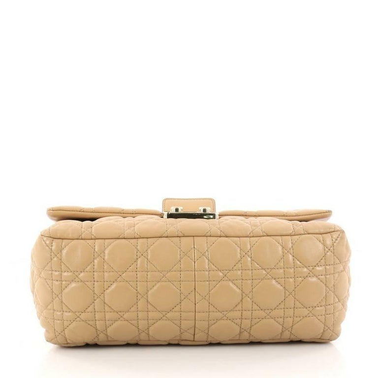 Women S Or Men Dior New Lock Flap Bag Cannage Quilt Lambskin Medium For