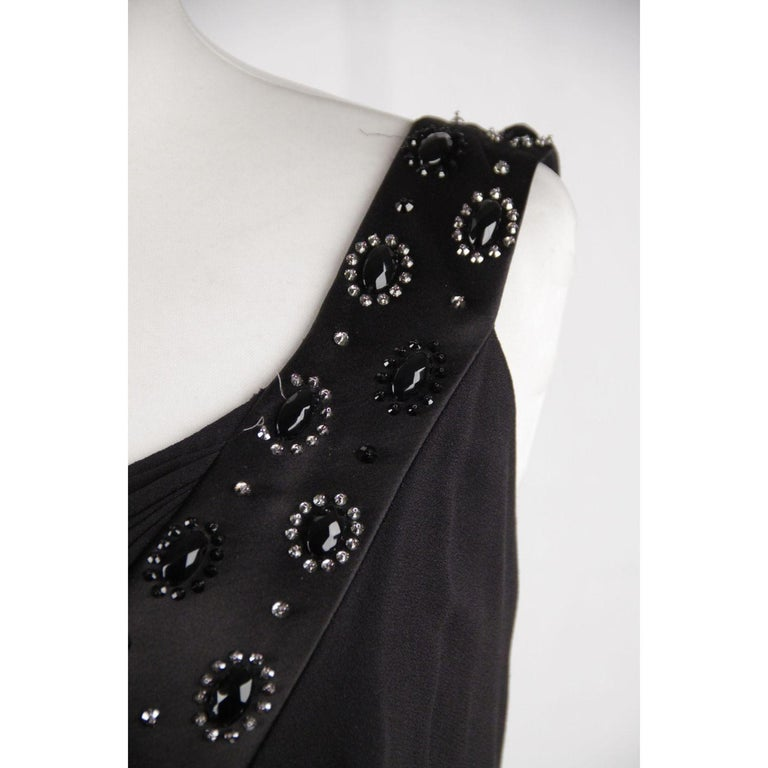 Christian Dior One Shoulder Dress Size 6 For Sale 3